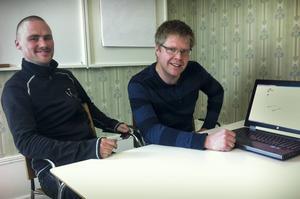 Per-Erik Eriksson och Andreas B Hallberg driver företaget Konfig Design.