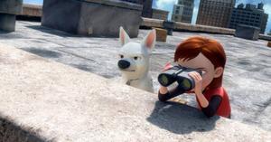 """""""Bolt"""" går nästan fot med animerade mästerverk som """"Superhjältarna"""" och """"Toy story 2"""". Foto: Disney"""