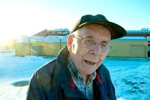 Arne Karlsson har bott i Brunflo i 50 år.