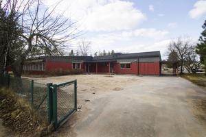 Förskolan Myrans gamla lokaler efter branden. Nu har byggnaden rivits för att ge plats för bostäder.