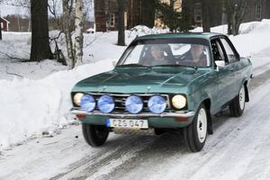 Här är bilen, en Open Ascona A, årsmodell -73,