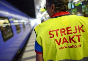 Tågstrejken handlar om mer än 250 tåganställda.