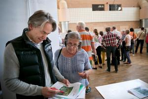 Niclas Holm och Ylva Sahlén bor båda i Bränninge. Ylva så nära som 110 meter ifrån den planerade bergtäkten.