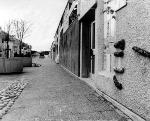 Råby centrum 1975.