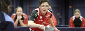 Matchvinnare. Jana Debesova gjorde det mesta rätt när hon vann sina två matcher i det första semifinalmötet med Taberg.