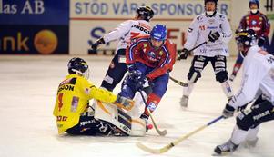 Martin Frid var pigg mot Tillberga och satte 2–0 i tisdagens match.