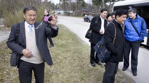 En delegation från mångmiljonstaden Jinan i Kina besöker Västerås för att bland annat besöka park- och naturområden.