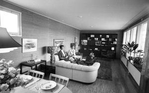 Mer 1969 kan det nog inte bli. Vardagsrum som det skulle se ut då.