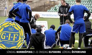 Joel Cedergren berättar om hur GIF Sundsvall hanterar tre matcher på sju dagar.