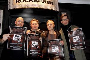 Tobbe, Fällström från Club Deströyer och Daniel Mikaelsson, Fredrik Hast och Mikael Andersson-Knut från Sensus.