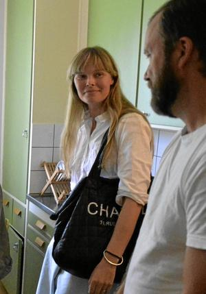 Återbesök. Sara Hampus, Stockholm, fick mersmak vid besöket 2007.