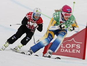 Anna Holmlund vann SM i Skicross som avgjordes i Lofsdalen