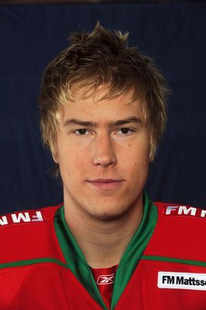 Tony Lagerström, matchens främste målskytt. Foto: Nisse Schmidt