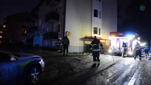 Efter branden på Manhemsvägen måste alla lägenheter i huset röksaneras eller rustas.