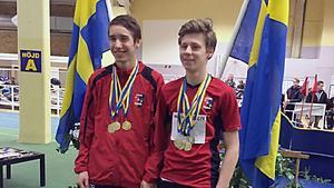 Kristian Gerdtsson och William Andersson.
