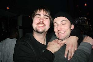 Blue Moon Bar. Bosse och Tony