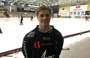 15 år och målskytt i Elitserien. Kasper Sandgren satte spiken i kistan mot Kalix för sitt Tillberga.
