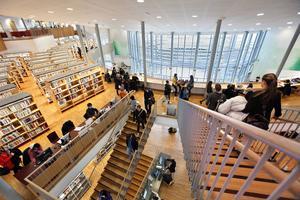 Maj-Britt Johansson befarar att platserna vid Högskolan i Gävle kan minska ytterligare.
