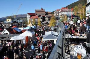 Åre höstmarknad, det enskilt största höstevenemanget i Jämtland, öppnar på fredag.