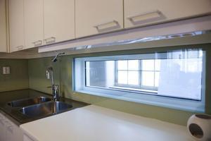Ljuset är ett viktigt inslag i planeringen av lägenheterna.