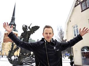 Erik Mårtensson har hjälpt Tomteland med produktionen för Spöklovet.