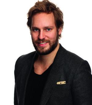 Jonas Eköf, chefredaktör för Vi läser.