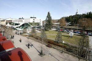 En gång i tiden hette Strykjärnsparken Järntorget – och ett nytt torg kan det bli om det byggs ett nytt hus i parken.