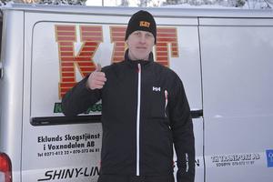 Tomas Jansson körde bra i Gävle, trots avsaknad av broms på bakhjulet.