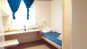 Det här var cellen som tillhörde 25-åringen.