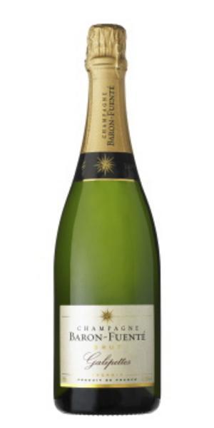 """Baron Fuenté Galipettes Brut (289 kronor)""""En av få ekologiskt odlade champagner. Jag tycker det passar till kräftor med tanke på dess historia och framtid som art."""""""
