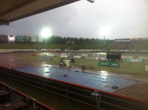 Regn i Målilla.