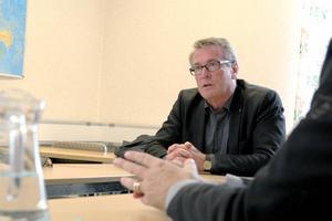 Arbetsmarknadsutskottets ordförande Raimo Pärssinen besökte Söderhamn.