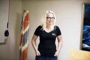 Camilla Larsson, kommunens demokratisamordnare.