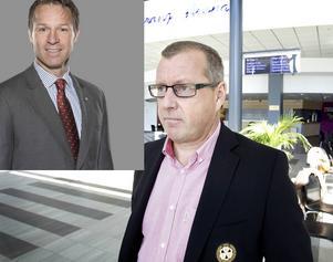 Mike Helber och Hans-Göran Karlsson.