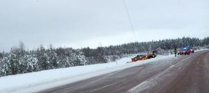 Olyckan inträffade på E45 mellan Siljansfors och Vimo.