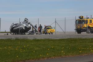 Fotografen Jens Blixth var på väg ut på ett fotojobb, när han råkade bli vittne till olyckan.