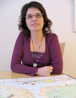 Anne-Katrin Ångnell, teknisk chef på kommunen, jagar nu byggherrar till projektet.