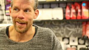Mats Arnqvist tobaksförsäljare:– Jag tycker det är bra med en ny tobakslag . Då kanske jag själv kan sluta!