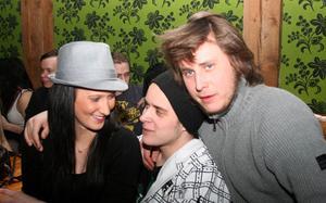 Konrad. Sandra, Johan och Daniel