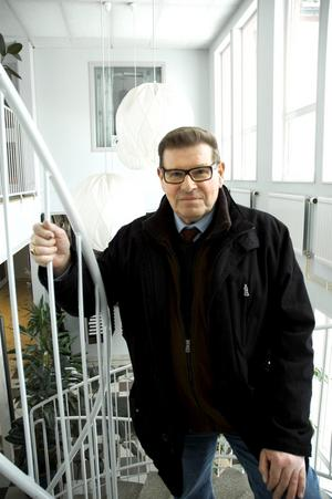 Blir pensionär. Lars Westlund lämnar nu sin post som vd för det kommunala fastighetsbolaget, för ett liv som pensionär. Men att helt sluta jobba är inget alternativ.