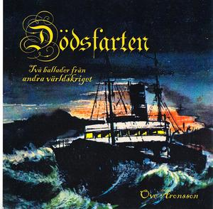 Ove Aronssons skivomslag till Carl Jönssons  berättelse om dödsfarten på havet under kriget