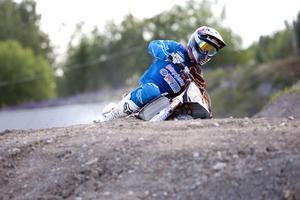 Krasch. Viktor Björklund körde omkull vid ett träningspass i USA. Foto: Per G Norén/Arkiv