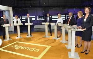 Block mot block. Höger ställdes mot vänster i partiledardebatten, men SD:s närvaro gör att ingen kan förverkliga sin politik på egen hand.