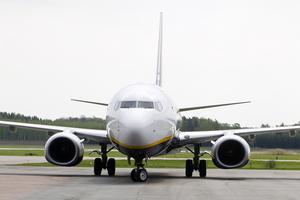 Londonplan. Kommunens flygplatsbolag går med förlust, men Västerås tjänar ändå på flygplatsen, framhåller skribenten. Foto: Tony Persson/arkiv