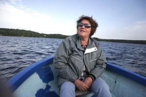 Ulla Henriksson ser fram emot musikkvällen på Bolleholmen.
