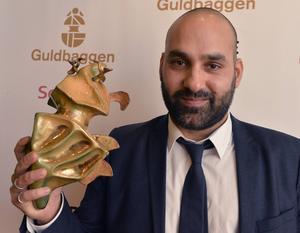 Peter Grönlund vann en Guldbagge för bästa manuskript (