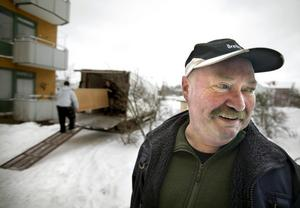 0160. Han är pensionär sedan flera år, men ändå jobbar han, Leif Magnusson.