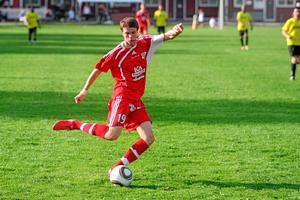 Niklas Svärd gjorde 2-0-målet mot Bk 30. Foto: Mikael Stenkvist