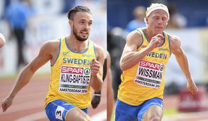 Både Tom Kling Baptiste och Johan Wissman är klara för seminfinal i EM.