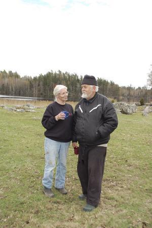 Karin Tengvald och maken Casten von Otter har varit ett par sedan 1963.
